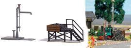 BUSCH 12378 Kleinbekohlung mit Gelenkwasserkran Bausatz 1:87 online kaufen