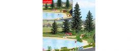 BUSCH 1273 Facelift-Set Sommer Bausatz Spur H0 online kaufen