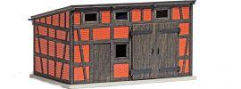 BUSCH 1455 Nebengebäude LaserCut Bausatz Spur H0 online kaufen