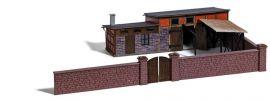 BUSCH 1531 Hinterhofgebäude für Schlachterei Bausatz Spur H0 online kaufen
