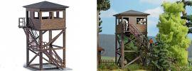 BUSCH 1585 Aussichtsturm ECHTHOLZ-Bausatz Spur H0 online kaufen