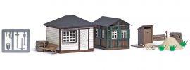 BUSCH 1616 Gartenlauben Set 1 LaserCut Bausatz Spur H0 online kaufen