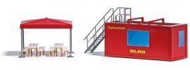 BUSCH 1618 DLRG Tauchcontainer Bausatz Spur H0 online kaufen