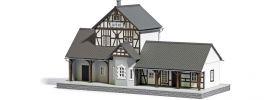 BUSCH 1640 Bahnhof Ilfeld LaserCut Bausatz 1:87 online kaufen
