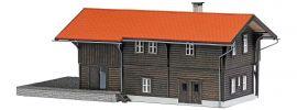 BUSCH 1644 Bahnhof Trin LaserCut Bausatz 1:87 online kaufen