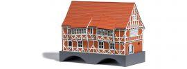 BUSCH 1656 Brückenhaus Wismar LaserCut Bausatz 1:87 online kaufen