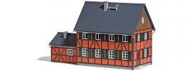BUSCH 1657 Wohnhaus mit Anbau LaserCut Bausatz 1:87 online kaufen