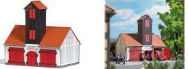 BUSCH 1660 Feuehrwehrgebäude Jonaswald LaserCut Bausatz 1:87 online kaufen