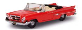 BUSCH 201129382 Chrysler 300 Convertible 1961 rot Automodell Spur H0 online kaufen