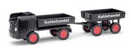 BUSCH 210008100 Multicar M21 mit Anhänger Kohlehandel Automodell 1:87 online kaufen