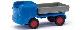 BUSCH 210009602 Multicar M21 Dreiseitenkipper blau Automodell 1:87 online kaufen