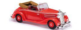 BUSCH 40510 Mercedes 170S Cabrio offen rot | Modellauto 1:87 online kaufen