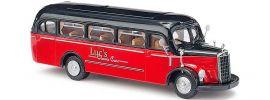 "BUSCH 41003 MB O-3500 Bus ""Luc's"" Bus-Modell 1:87 online kaufen"