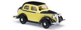 BUSCH 41206 Ford Eifel Cabrio gelb und schwarz Automodell 1:87 online kaufen