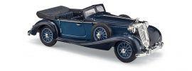 BUSCH 41334 Horch 853 Cabrio offen blau Automodell 1:87 online kaufen