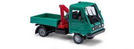 BUSCH 42221 Multicar mit Pritsche und Kran Automodell 1:87 online kaufen
