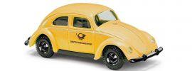 BUSCH 42740 VW Käfer mit Brezelfenster Deutsche Bundespost Automodell 1:87 online kaufen