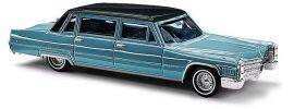 BUSCH 42960 Cadillac 66 Limousine metallic blau Automodell 1:87 online kaufen