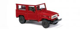 BUSCH 43032 Toyota Land Cruiser J4 rot | Automodell 1:87 online kaufen