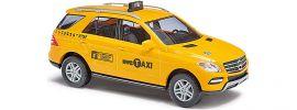 "ausverkauft | BUSCH 43314 MB ML-Klasse ""Taxi New York City"" Automodell 1:87 online kaufen"