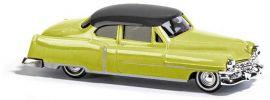 BUSCH 43430 Cadillac Fleetwood Coupe 1952 gelb Miniaturmodell Spur H0 online kaufen
