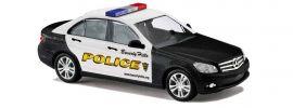BUSCH 43604 Mercedes-Benz C-Klasse Limousine W204 Beverly Hills Police Blaulichtmodell 1:87 online kaufen
