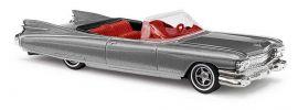 BUSCH 45121 Cadillac Eldorado Cabrio metallic-silber Automodell 1:87 online kaufen