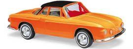 BUSCH 45807 VW Karmann Ghia 1600 Orange | Modellauto 1:87 online kaufen