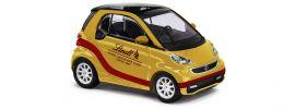 BUSCH 46205 Smart Fortwo 2012 Lindt Modellauto 1:87 online kaufen