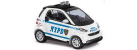 BUSCH 46213 Smart Fortwo Coupé 2012 N.Y.P.D. | Blaulichtmodell 1:87 online kaufen