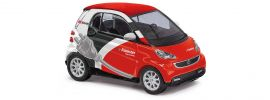 BUSCH 46217 Smart Fortwo Coupe 2012 Flinkster Automodell 1:87 online kaufen