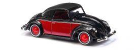 BUSCH 46717 VW Hebmüller Cabrio Verdeck geschlossen schwarz und rot Automodell 1:87 online kaufen