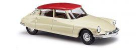 BUSCH 48026 Citroen DS19 zweifarbig weiss Automodell 1:87 online kaufen