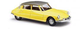 BUSCH 48028 Citroen DS19 zweifarbig gelb Automodell 1:87 online kaufen