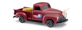 BUSCH 48237 Chevrolet Pick-Up Ranch-Truck Automodell 1:87 online kaufen