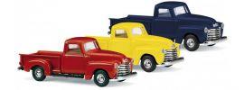 BUSCH 48283 Chevrolet Pick-up gelb Modellauto 1:87 online kaufen