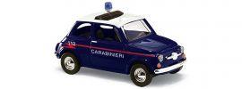 BUSCH 48728 Fiat 500 Carabinieri Blaulichtmodell 1:87 online kaufen