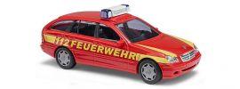 BUSCH 49174 Mercedes-Benz  C-Klasse T-Modell S203 Feuerwehr Blaulichtmodell 1:87 online kaufen