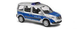 BUSCH 50658 Mercedes-Benz Citan Kombi Polizei Blaulichtmodell 1:87 online kaufen