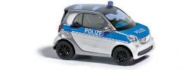 ausverkauft | BUSCH 50710 Smart Fortwo 2014 Polizei Blaulichtmodell Spur H0 online kaufen