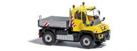 BUSCH 50918 Mercedes-Benz Unimog U430 gelb Einsatzfahrzeug 1:87 online kaufen
