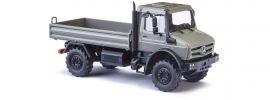 BUSCH 51025 Mercedes-Benz Unimog U5023 grau LKW-Modell 1:87 online kaufen