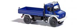 BUSCH 51026 Mercedes-Benz Unimog U5023 THW Blaulichtmodell Spur H0 online kaufen