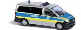 BUSCH 51133 Mercedes-Benz Vito Bus Polizei Bremerhaven Blaulichtmodell 1:87 online kaufen