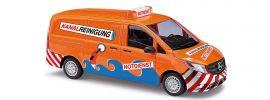 BUSCH 51138 Mercedes-Benz  Vito Transporter Kanal-Reinigung Automodell 1:87 online kaufen