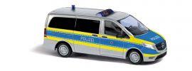 BUSCH 51140 Mercedes-Benz Vito Bus Polizei Nordrhein-Westfalen Blaulichtmodell 1:87 online kaufen