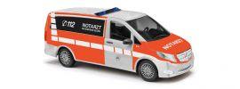 BUSCH 51166 Mercedes-Benz V-Klasse Notarzt Feuerwehr Essen Blaulichtmodell 1:87 online kaufen