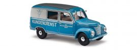BUSCH 51292 Barkas Halbbus BVF Berlin Vergaser Fabrik Modellauto 1:87 online kaufen