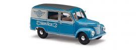 BUSCH 51293 Barkas Halbbus KFZ Werke Grube Werdau Automodell 1:87 online kaufen