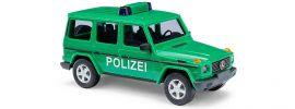 BUSCH 51410 Mercedes-Benz G-Klasse Polizei Blaulichtmodell 1:87 online kaufen